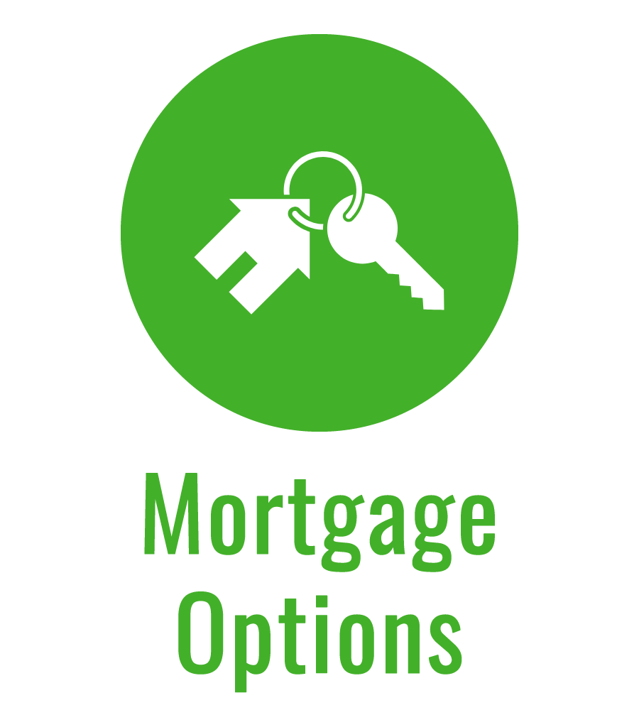 Mortgage Options green icon