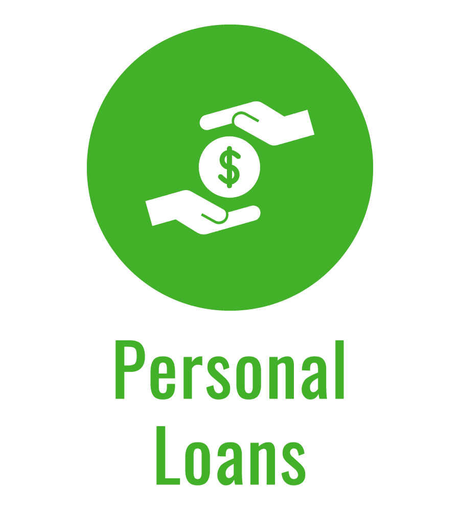 Personal Loans green icon