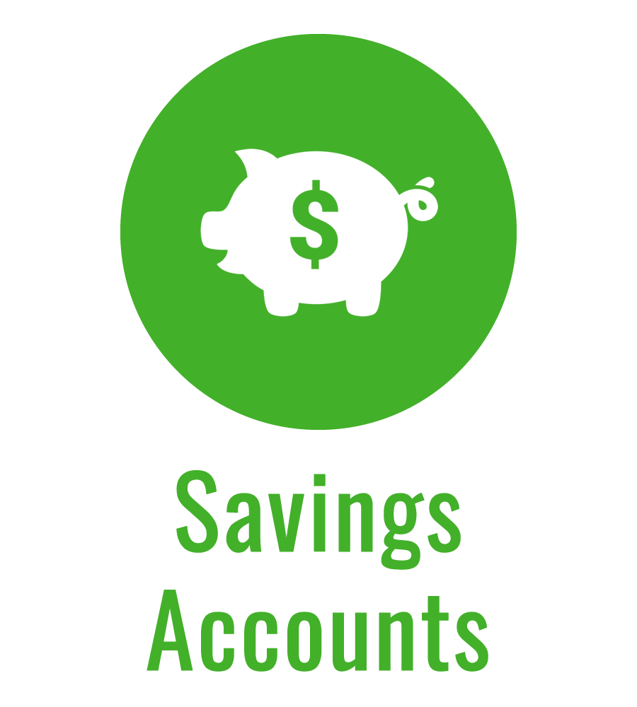 Savings Accounts green icon