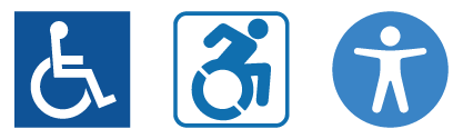 AudioEye Accessibility ADA evolution icons